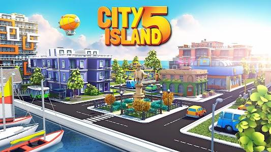 City Island 5 - Tycoon Building Simulation Offline 2.5.0 (Mod Money)