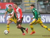 Aaron Meijers maakt een prachtige goal voor ADO Den Haag tegen Feyenoord