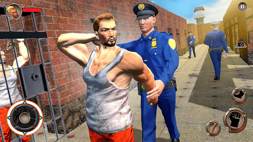 US Police Grand Jail break Prison Escape Games 1.9 screenshots 5