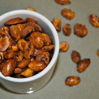Barbecued Peanuts.