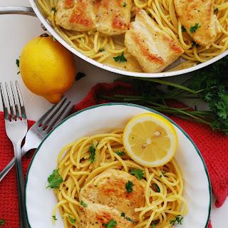 Dairy & Gluten-Free Creamy Lemon Chicken Pasta Recipe