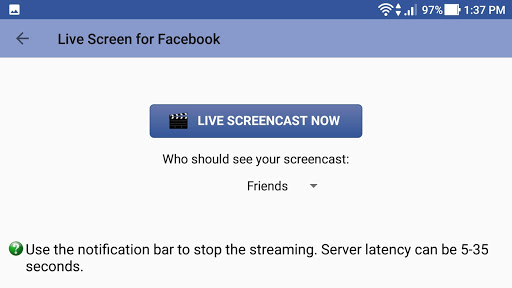 Live Screen for Facebook 1.1.107 screenshots 4
