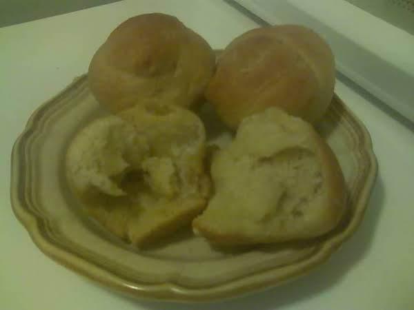 My Finished Garlic Yeast Rolls .... Yield 1 Dozen