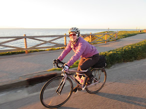 Photo: Kristin's last ride with the club for awhile. She's moving to Cincinnati and converting from Dr Purple to Professor Purple