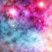 المجرة خلفية متحركة