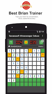 Savanasoft Minesweeper Deluxe - náhled