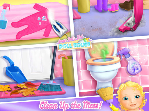 Sweet Baby Girl Doll House - Play, Care & Bed Time 1.0.76 screenshots 9
