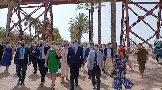 Del Cable a la Catedral: El ministro Uribes recorre las obras del 1,5% Cultural