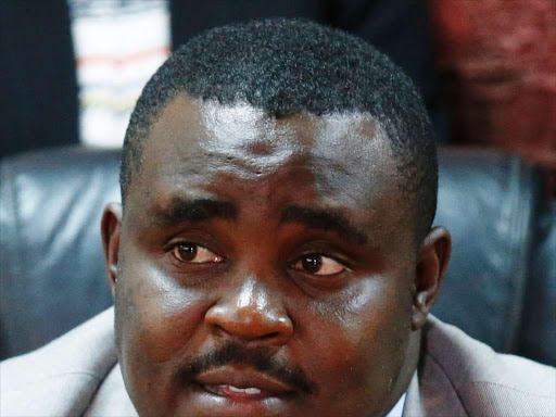 Kakamega Senator Cleophas Malala on May 9, 2018