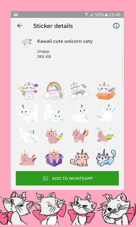 LULU Caty Stickers for WhatsApp – (Android Apps) — AppAgg