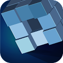 Grey Cubes Free icon