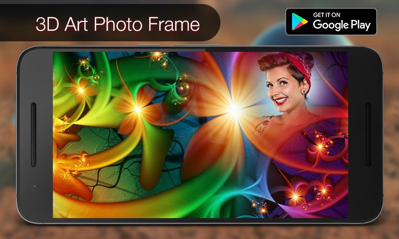 3D Art Photo Frame Landscape Screenshot 1