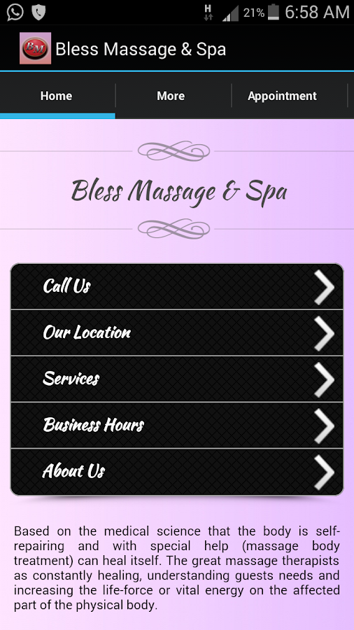 Bless Massage & Spa- screenshot