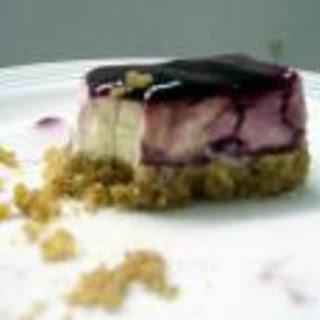 Blueberry Cream Cheesecake.