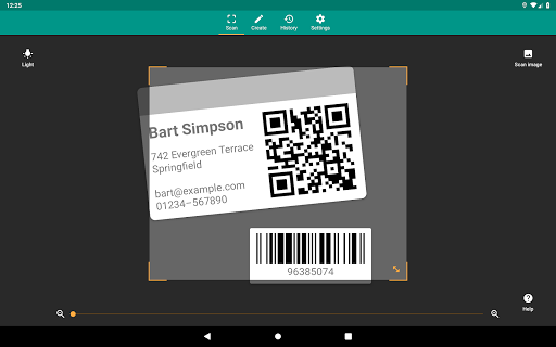 QR & Barcode Reader screenshot 9