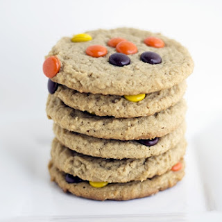 Double Peanut Butter Oatmeal Cookies.