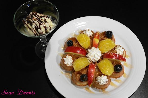 鬆餅名店旁的 麻糬鬆餅 立裴米緹咖啡館(完整菜單)