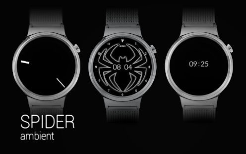 SPIDER - Watch Face Screenshot