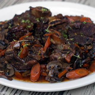 Crockpot Braised Orange Soy Short Ribs
