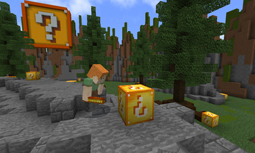 Télécharger Maps Lucky Block for MCPE APK MOD (Astuce) screenshots 1