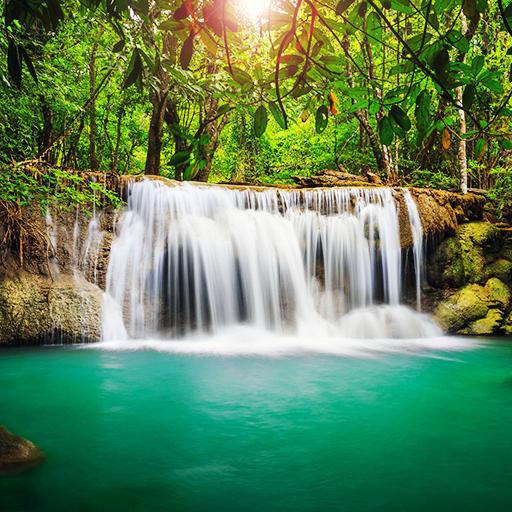 Waterfall HD Wallpaper Icon