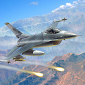 Jet Plane Fighter City 3D icon