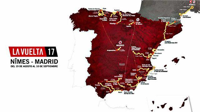 Top 10 Datos curiosos Vuelta a España 2017