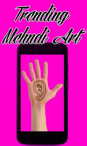 Trending Mehndi Art