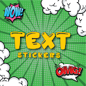 text stickers for WhatsApp-3d texting with emoji icon