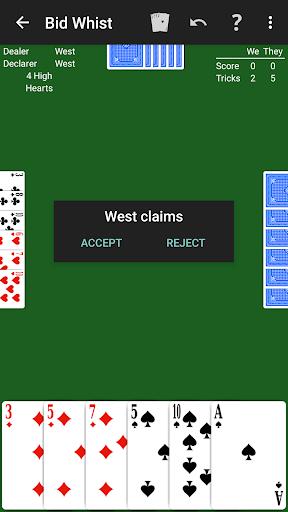 Bid Whist by NeuralPlay 3.01 screenshots 4