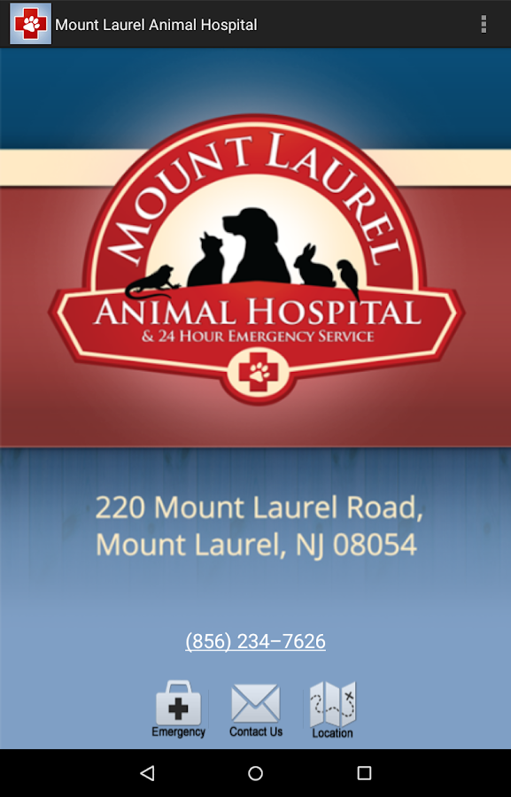 Mount Laurel Animal Hospital- screenshot