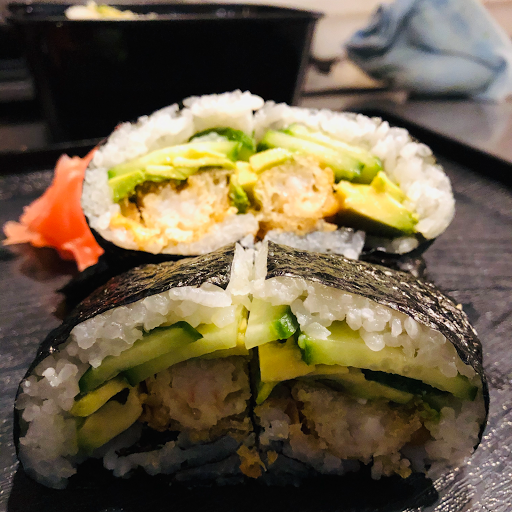Dynamite Sushi Rice Burger