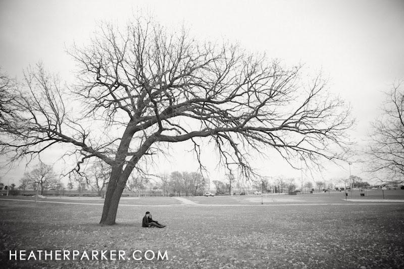Photo: Lincoln Park engagement photos