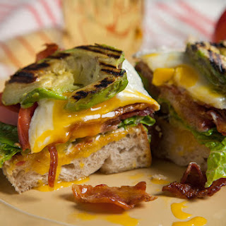 G.A.B.L.T.E. – Grilled Avocado BLT with Egg Sandwich