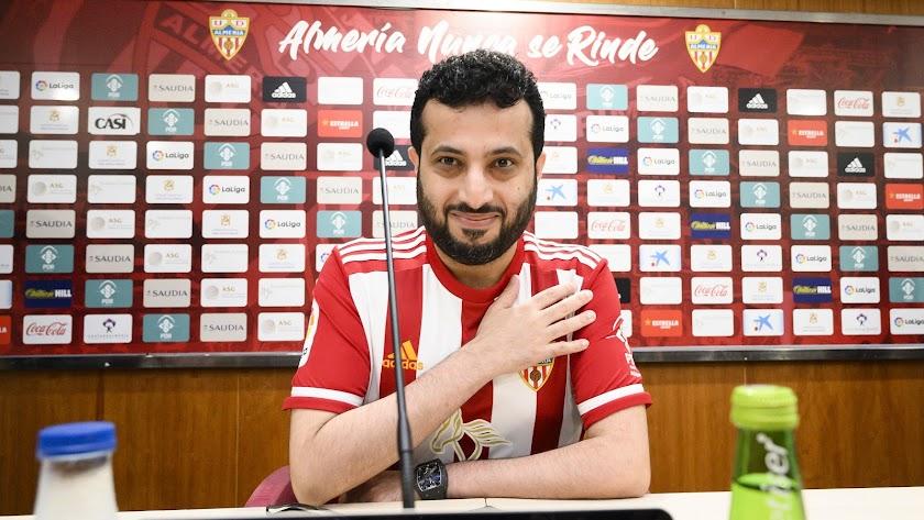Turki Al-Sheikh ha donado más de 1.000.000 de euros a Almería.