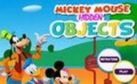 MICKEY MOUSE SKRIVENI PREDMETI