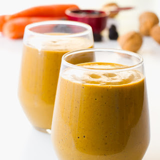 Creamy Carrot Smoothie.
