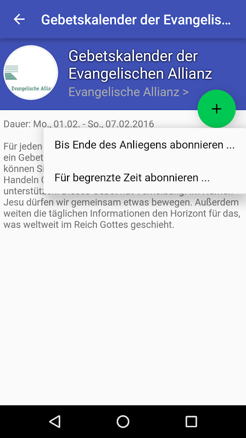 Deutschland Betet- screenshot