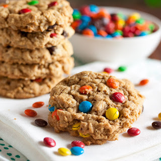 Peanut Butter Oatmeal Monster Cookies