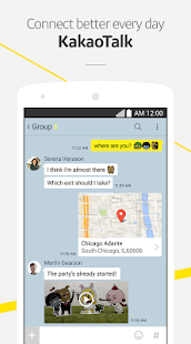 KakaoTalk: Free Calls & Text Screenshot 1