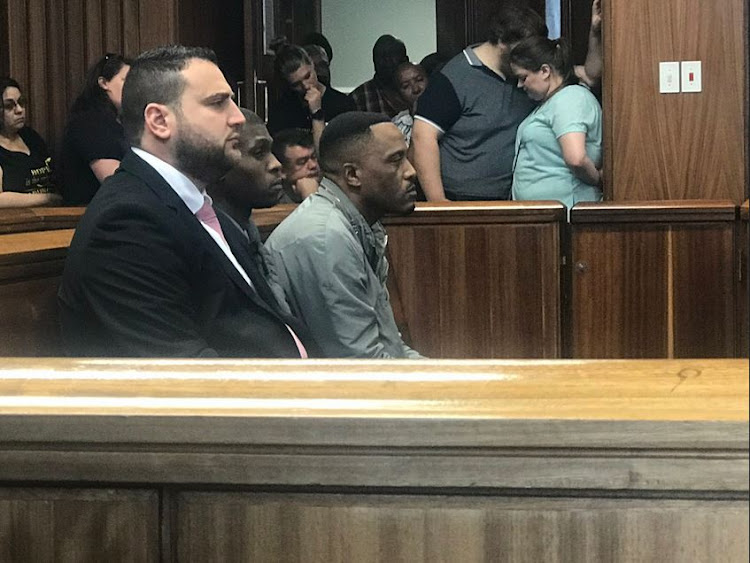 Christopher Panayiotou and his accomplices Sinethemba Nemembe and Zolani Sibeko in the Port Elizabeth High Court