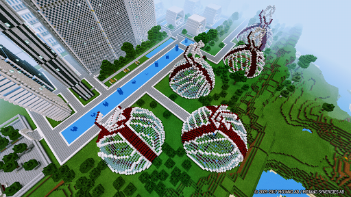 Download Futuretroplis City map for Minecraft on PC & Mac with