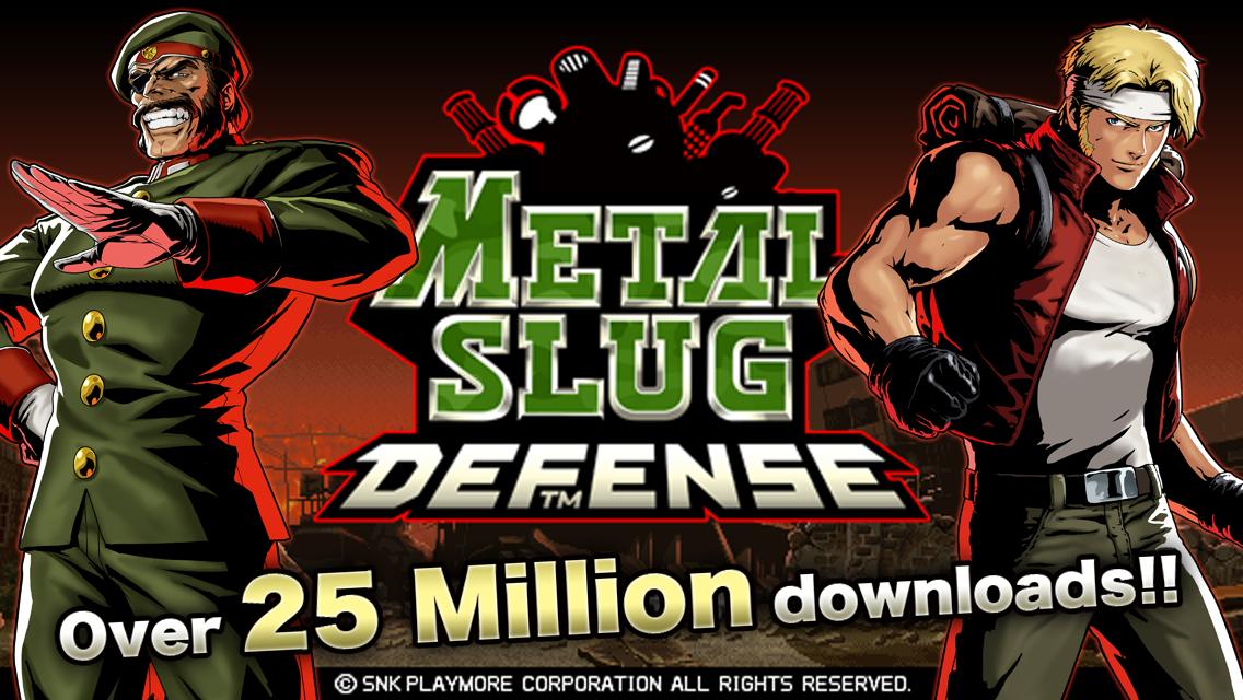 METAL SLUG DEFENSE screenshot #1