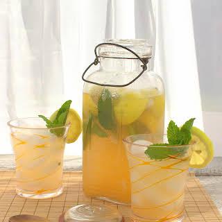 Cantaloupe Mint Lemonade.