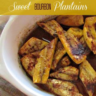 Sweet Bourbon Plantains {Recipe Redux}.
