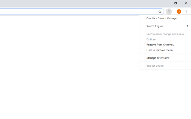 Omnibox Search Manager