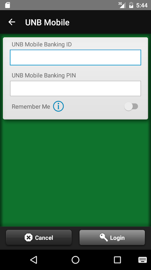 United National Bank Mobile- screenshot