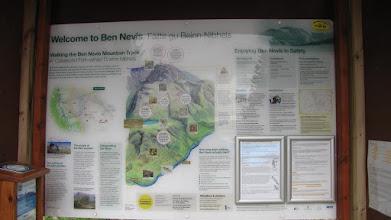 Photo: Ben Nevis point culminant de Grande Bretagne - 1344 mètres