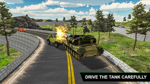 Off Road Army Truck Driving Game  screenshots 4
