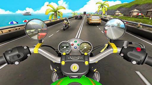 Racing In Moto Traffic Stunt Race 1.14 screenshots 9